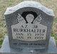 Profile photo:  A. Z. Burkhalter, Jr