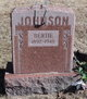 Profile photo:  Bertie <I>Warren</I> Johnson