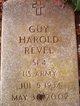 """Profile photo:  Guy Harold """"Doc"""" Revel"""