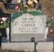 Profile photo:  Ada S. <I>Tackett</I> Carver