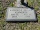 Katherine Lucille <I>Kellam</I> Ashworth