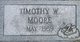 Timothy Wayne Moore