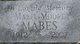 Mabel Ellen <I>Moore</I> Mabes