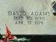 Profile photo:  David Lee Adams