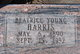 Profile photo:  Beatrice <I>Young</I> Harris