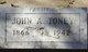 John Albert Toney