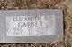 Elizabeth E <I>Miller</I> Garber