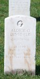 "Profile photo:   Aldice O "" "" <I> </I> Dinsdale,"