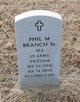 Profile photo:  Phil M Branch, Sr