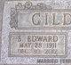 """Profile photo:  Samuel Edward """"Eddie"""" Gildner"""