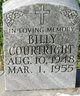 Profile photo:  Billy Courtright