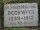 Harriet Malvina Beckwith