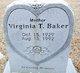 Virginia Baker