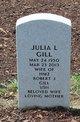 Profile photo:  Julia L Gill