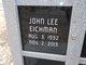 John Lee Eichman