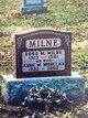 Profile photo:  Annie Mary <I>McMillan</I> Milne