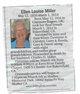 Ellen Louise <I>Matthews</I> Miller