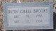 Ruth Bryan <I>Jefferson Isbell</I> Brooks
