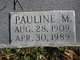"Profile photo:  Pauline Catherine ""Polly"" <I>Morgan</I> Derrick"