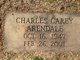 Profile photo:  Charles Carey Arendale