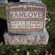 Mary E <I>Shelton</I> Manlove