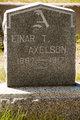 Profile photo:  Einar T. Axelson