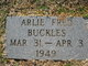 Profile photo:  Arlie Fred Buckles
