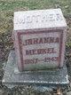 Johanna <I>Ammann</I> Merkel
