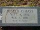 "Profile photo:  Joseph Oather ""Shorty"" Bass"