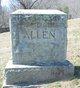 "Profile photo:  Carey Walton ""C.W."" Allen, Sr"