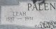 Leah <I>Barthuly</I> Palenske