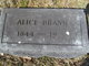 Profile photo:  Alice Ann <I>Moore</I> Brann