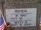 Profile photo:  Betty R Miner