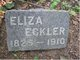 "Elizabeth ""Eliza"" <I>Ney</I> Eckler"