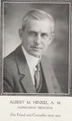 Profile photo:  Albert M. Hinkel