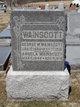 """Angetia """"Angela"""" <I>Hawkins</I> Wainscott"""
