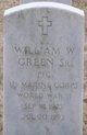 Profile photo: PFC William Warren Green