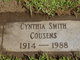 Profile photo:  Cynthia <I>Smith</I> Cousens