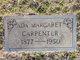 Ada Margaret <I>Bassore</I> Carpenter
