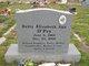 Profile photo:  Betty Elizabeth Ann O'Pry