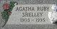 Profile photo:  Agatha Ruby <I>Mallonee</I> Shelley