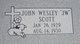 """John Wesley """"J W"""" Scott"""