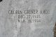 Gloria <I>Griner</I> Amos