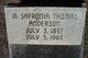 Martha Safronia <I>Thomas</I> Anderson