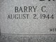 Profile photo:  Barry C. Brown
