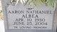 "Profile photo:  Aaron Nathaniel ""Jip"" Albea"