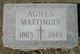 Mary Agnes <I>Bradley</I> Mattingly