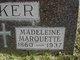 Profile photo: Dr Madeleine <I>Marquette</I> Baker