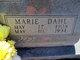 Marie Ann <I>Dahl</I> Boothe