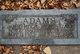 Profile photo:  Agnes Leatham <I>Izatt</I> Adams